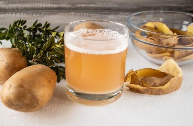 Le jus de pommes de terre crues peut tuer jusqu'à 100 % des bactéries nuisibles !
