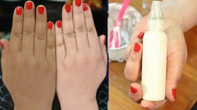 Voici comment blanchir vos mains avec des ingrédients naturels