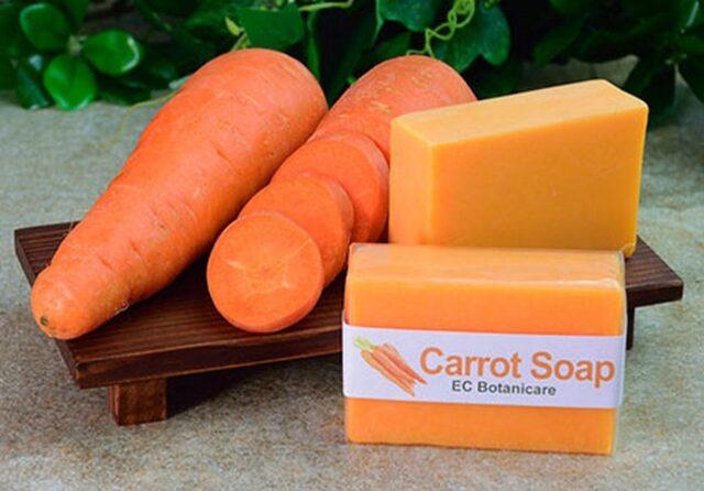 Savon du carotte: Bienfaits beauté et recette de préparation