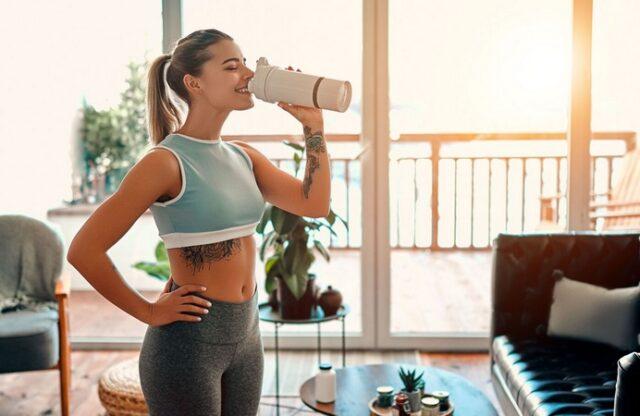 Un boisson à boire avant le sport pour brûler plus de calories